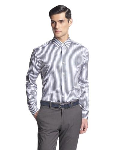 Salvatore Ferragamo Men's Stripe Dress Shirt