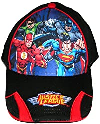 Justice League Hat Superman Flash Green Lantern Batman