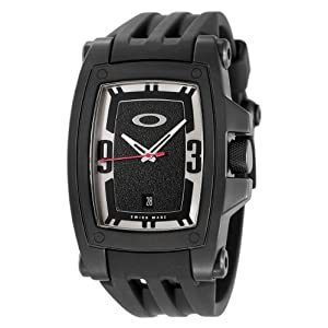 Oakley Men's 10-290 Warrant Collection Stealth Black Watch