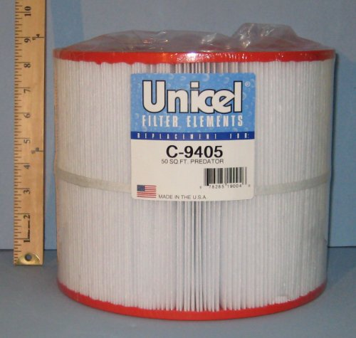 Unicel C 9405 Replacement Filter Cartridge for 50 Square Foot Predator ...