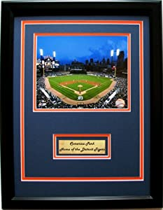 MLB Detroit Tigers Comerica Park Photo Frame with Nameplate by CGI Sports Memories