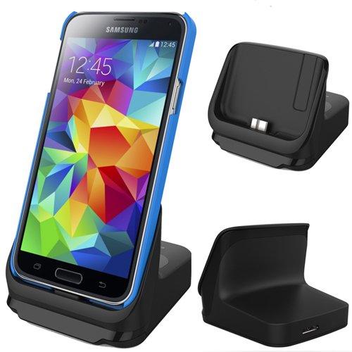 Rnd Dock For Samsung Galaxy S5 With Usb 3.0 (Black)