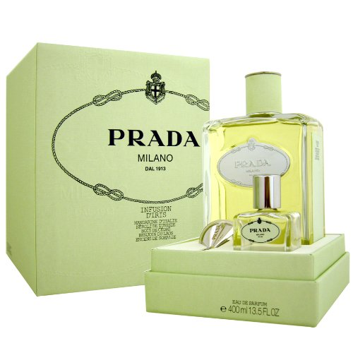Prada Infusion D'Iris Eau de Parfum 400ml + 30ml empty bottle + funnel