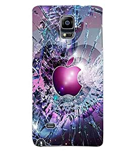 ColourCraft Creative Image Design Back Case Cover for SAMSUNG GALAXY NOTE 4