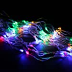 110V 120-LEDs 4-color Net Light Strin...