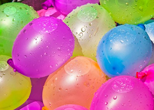 Mylife (Tm) Multi Colored - Flexible Latex Rubber (100 Count Pack - Standard Size) Water Bomb Grenade Balloons (Fun In The Sun) front-1052611