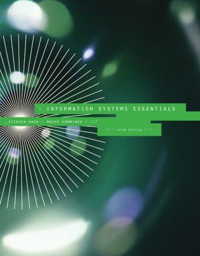 Information Systems Essentials
