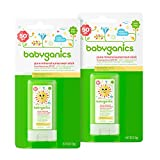 Babyganics-Mineral-Based-Baby-Sunscreen-Stick-SPF-50-47oz-Stick-Pack-of-2