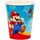 Super Mario Party 9 oz. Paper Cups スーパーマリオパーティ9オンス紙カップ♪ハロウィン♪クリスマス♪