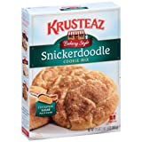 Krusteaz Bakery Style Snickerdoodle Cookie Mix, 17.5-Ounce (Pack of 12)