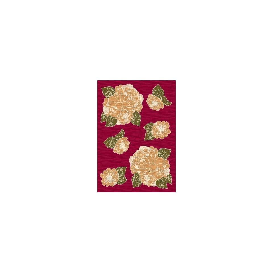 Milliken Libby 7 7 Square ruby Area Rug