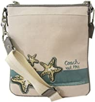Hot Sale Coach Beach Starfish Motif Swingpack Purse 47314