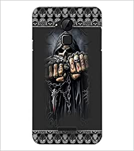 PrintDhaba Skeleton D-3667 Back Case Cover for COOLPAD NOTE 3 LITE (Multi-Coloured)