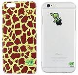 サミープレミア iPhone6s iPhone6 ケース [2種1セット] キリン柄 エイリアン柄 (クリア) エイリアン サミー プレミア柄 パチスロ スロット キャラクター グッズ