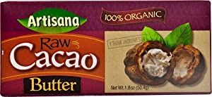 Artisana Raw Cacao Butter, 1.8000 Ounce