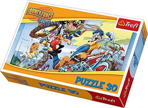 Trefl-Warner-Looney-Tunes-Bike-Race-Puzzle-30-Pieces