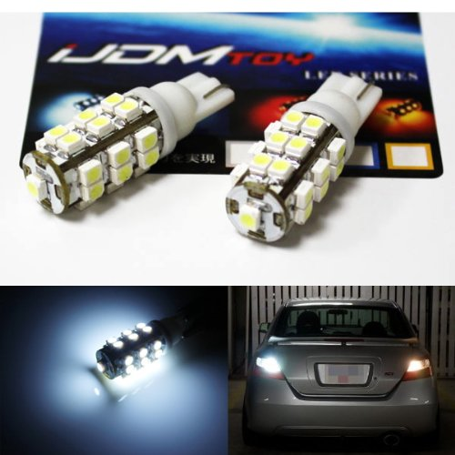 Jdmtoy 25-Smd-1210 912 921 906 Led Bulbs For Back Up Reverse Lights, Xenon White