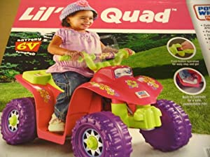 Power Wheels Lil Quad - Pink