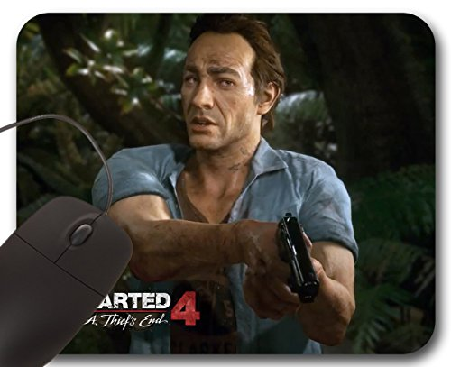 Mousepad Samuel Drake (B) - Uncharted 4 A Thief's End - Tappetino per Mouse