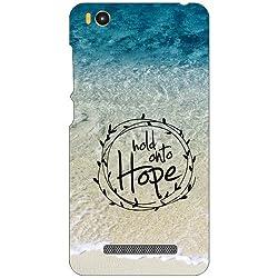 Xiaomi Mi4i MZB4300IN Back Cover - Hope Designer Cases