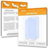 2 x Afinitics Anti-Reflective Screen Protector for Samsung Galaxy S3 Mini - PREMIUM QUALITY (non-reflecting, hard-coated, bubble free application)