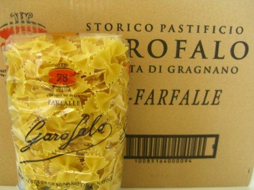 Garofalo Farfalle Italian Pasta 1 pound (Pack of 20)