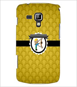 PrintDhaba Cupid D-3012 Back Case Cover for SAMSUNG GALAXY S DUOS S7562 (Multi-Coloured)