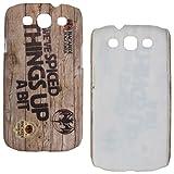 DMG Night Glow Hard Back Cover Case For Samsung Galaxy S3 Neo GT-I9300I (Bacardi)