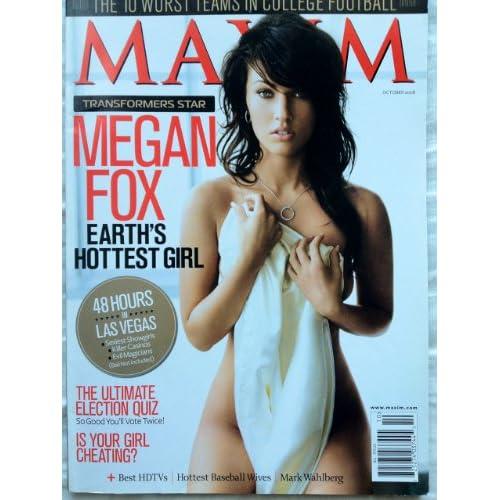 Maxim [US] November 2008 (単号) ミーガン・フォックス