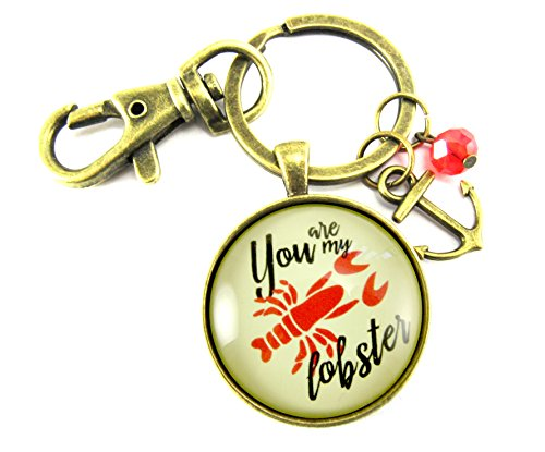 you-are-my-lobster-love-key-chain-120-vintage-nautical-style-bronze-round-glass-pendant-anchor-charm