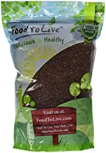 Food To Live Organic Red Quinoa 5 Pounds