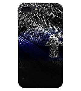 PrintVisa Butterfly Facebook 3D Hard Polycarbonate Designer Back Case Cover for Apple iPhone 7 Plus