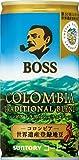 サントリーコーヒーボス コロンビアトラディショナルブレンド 185g×30本