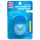 Rite Aid Floss, Soft & Smooth, Mint Waxed, 54.7 yards