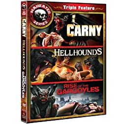 Maneater Triple Feature (Hell Hounds / Carny / Rise Of The Gargoyles)