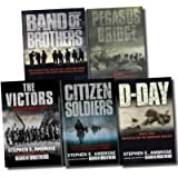 Stephen Ambrose 5 Books Pack Set Band of Brothers Collection RRP: � 42.95 (Band of Brothers, Pegasus Bridge, The Victors, D-Day, Citizen Soldiers) (Band of Brothers)by Stephen E Ambrose