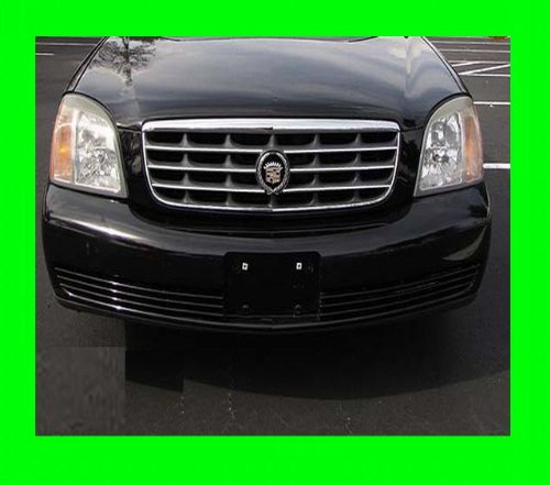 2000-2005 CADILLAC DEVILLE DHS CHROME GRILLE GRILL KIT 2001 2002 2003 2004 00 01 02 03 04 05 (Cadillac Deville Grilles compare prices)