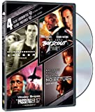 Extreme Action: 4 Film Favorites - Eraser / The Last Boy Scout / Passenger 57 / Point Of No Return  (Bilingual)
