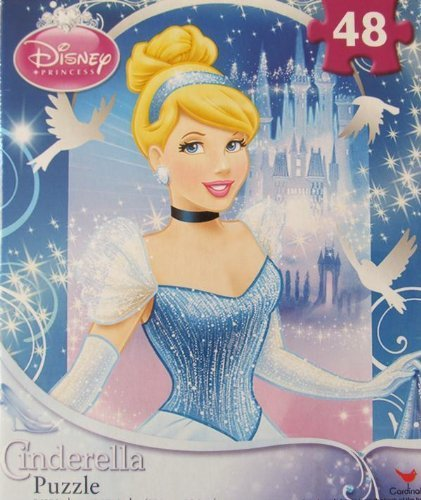 Disney Princess Cinderella 48 piece Puzzle - 1