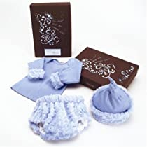 Bloomers Baby The Birth Day Box in Blue Leopard Size - 3 Months