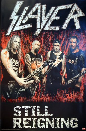 Slayer poster Still Reigning Rare Hot nuovo 24x 36