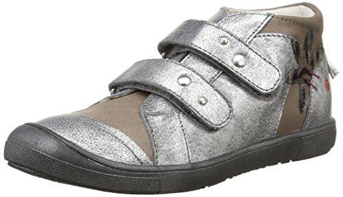 Gbb - Llora, Stivale per bambine e ragazze, grigio (vte gris/argent dpf/dolly), 30