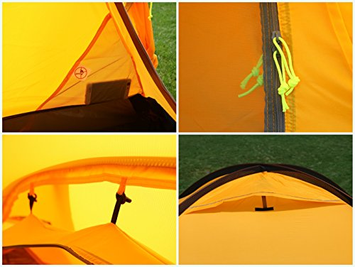 GEERTOP Tent - Lightweight Backpacking Alpine Tent With A Living Room