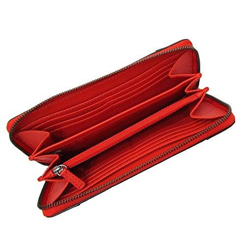 a32f7458baa4 [コーチ] COACH 財布(長財布) F52645 オレンジQBORG レザー長財布レディース