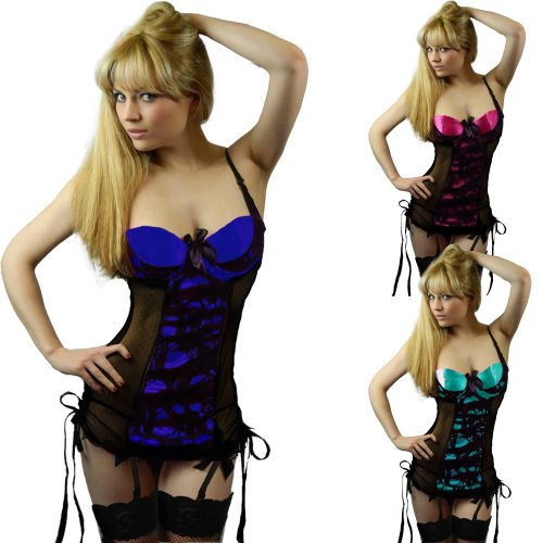 8f00f585485 Yummy Bee Sexy Lingerie Babydoll Dress Suspenders Black Lace Stockings Plus  Size 6 8 10 12 14 16 18 20 22 ...