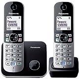 Panasonic KX-TG6812EB Twin DECT Cordless Telephone Set