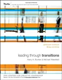 img - for Leading Through Transitions: Participant Workbook by Kerry Bunker (2010-04-12) book / textbook / text book