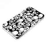 deinPhone - Blackberry Z10 Cover di design Rigida Protettiva Cranio Rosso Occhio