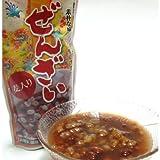 大粒金時豆の沖縄ぜんざい 麦入り 4パック(1人前×4 オキハム)