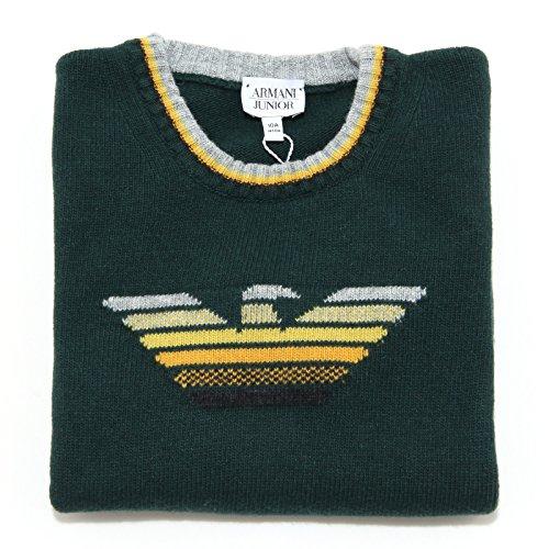 5460L maglione bimbo ARMANI JUNIOR viscosa maglioni jumpers kids [10 ANNI]